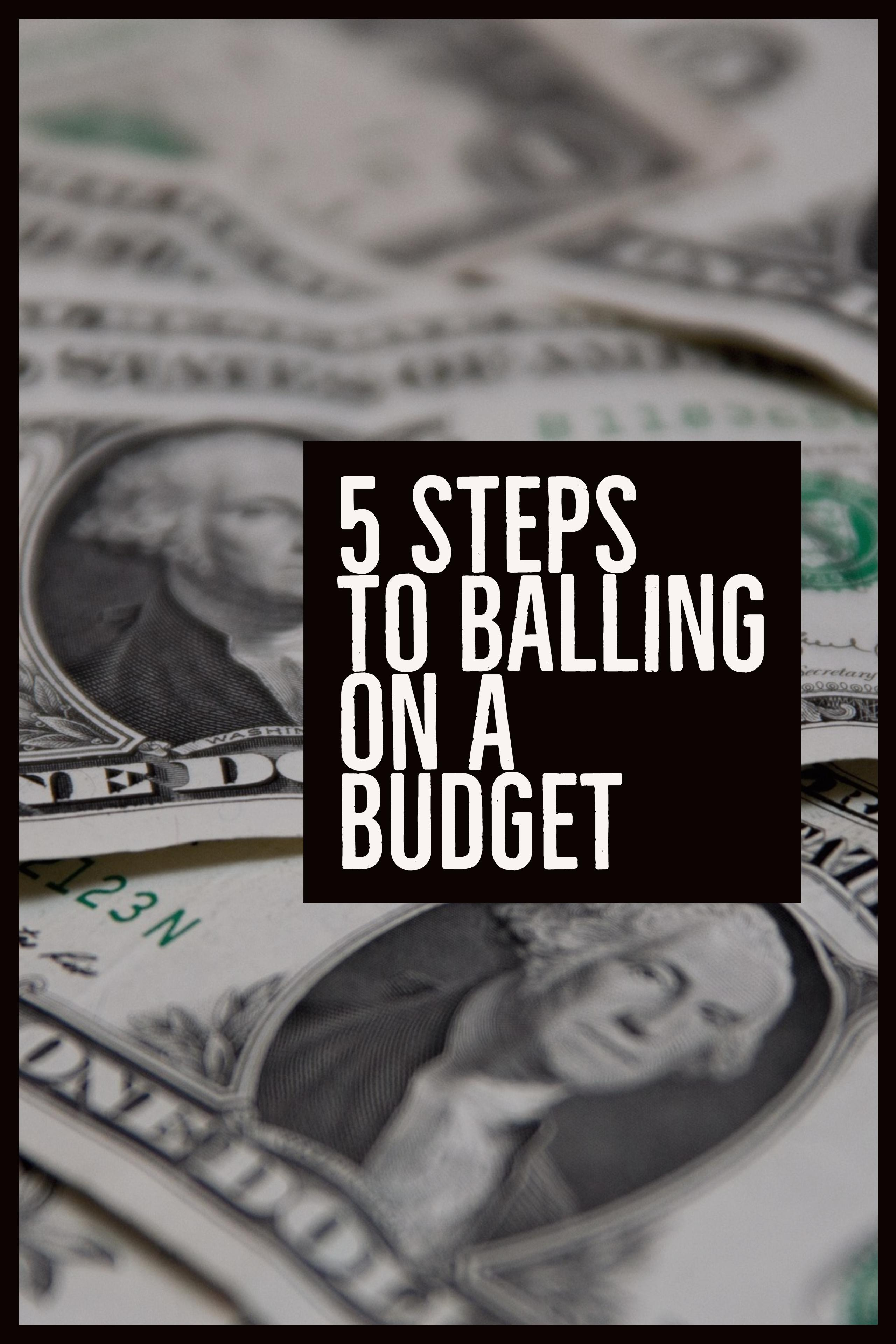 Read this post and more instantly by signing up for the Wealth Noir Preview, and get a chance to win an Amazon Gift Card. Sign up at wealthnoir.com.  My budget allows me to ball on the things I want without worry. It\'s easy and ensures I stay on track to build wealth. Learn the 5 steps to start balling. #wealthnoir #balling #havingthangs