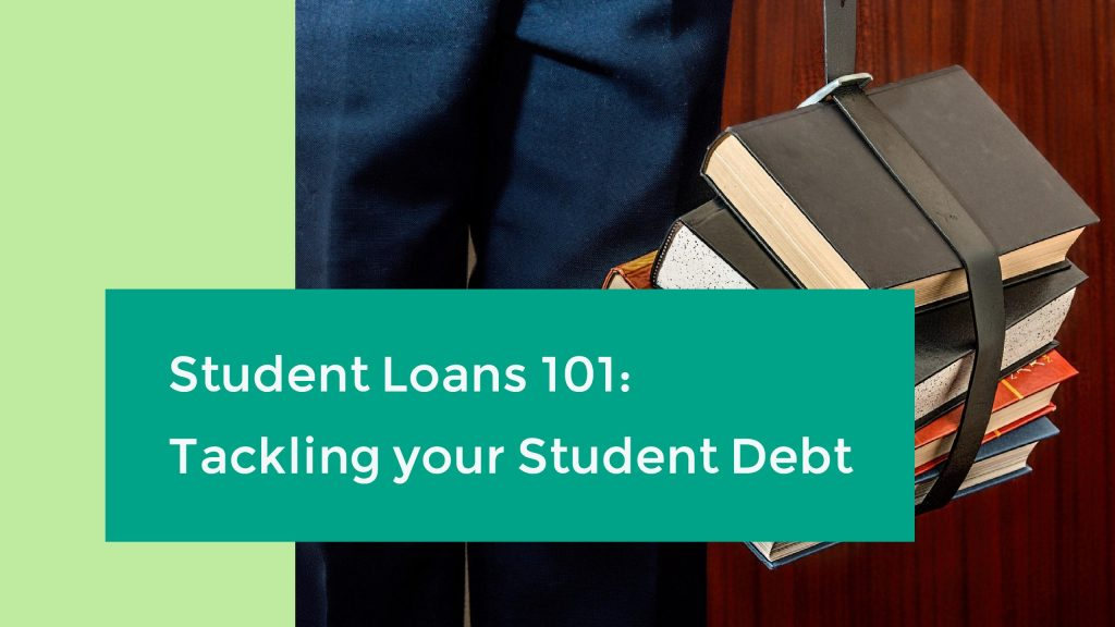 header image for article on tackling student debt