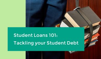 header image for article on tackling student debt