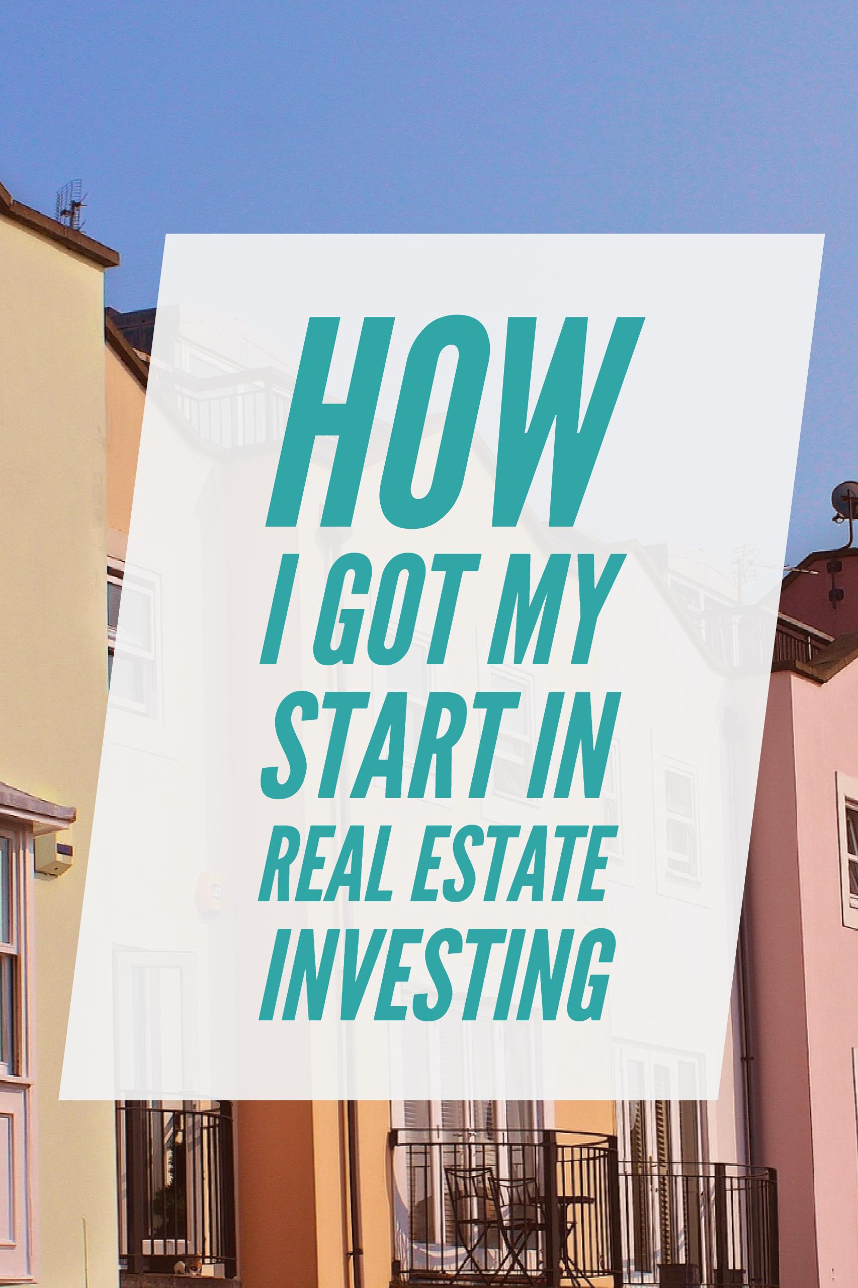 I love investing in real estate. It's a good mix of solid returns, monthly cashflow, and things I can touch. My start wasn't spectacular, but gives insight into how anyone can get their start investing in real estate. If you have been considering adding real estate to your portfolio, let my personal story guide your decision.