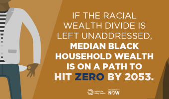 if the racial divide left unaddressed median black household path to hit zero by 2053 wealth noir