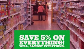 Save 5% on Everything! Well, almost everything.blog, Save on Amazon
