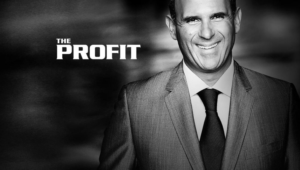 the profit american reality show wealth noir