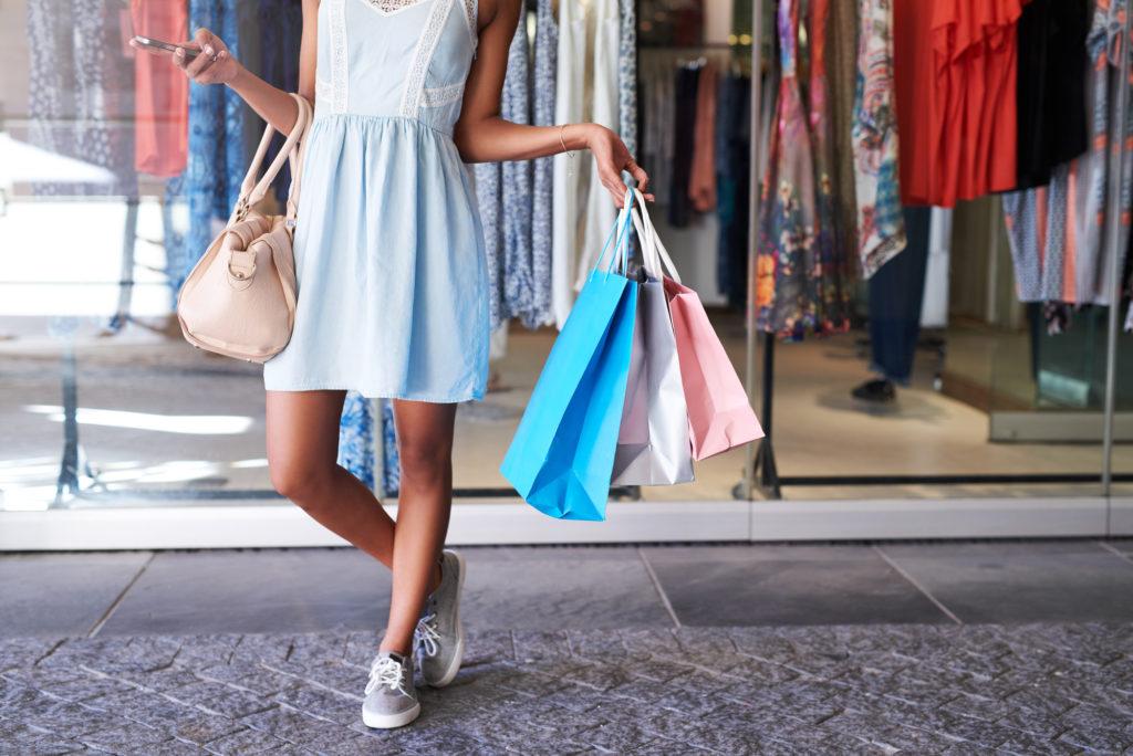 shopping with fun money