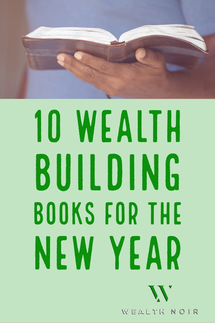 10 Wealth Building Books for the New Year