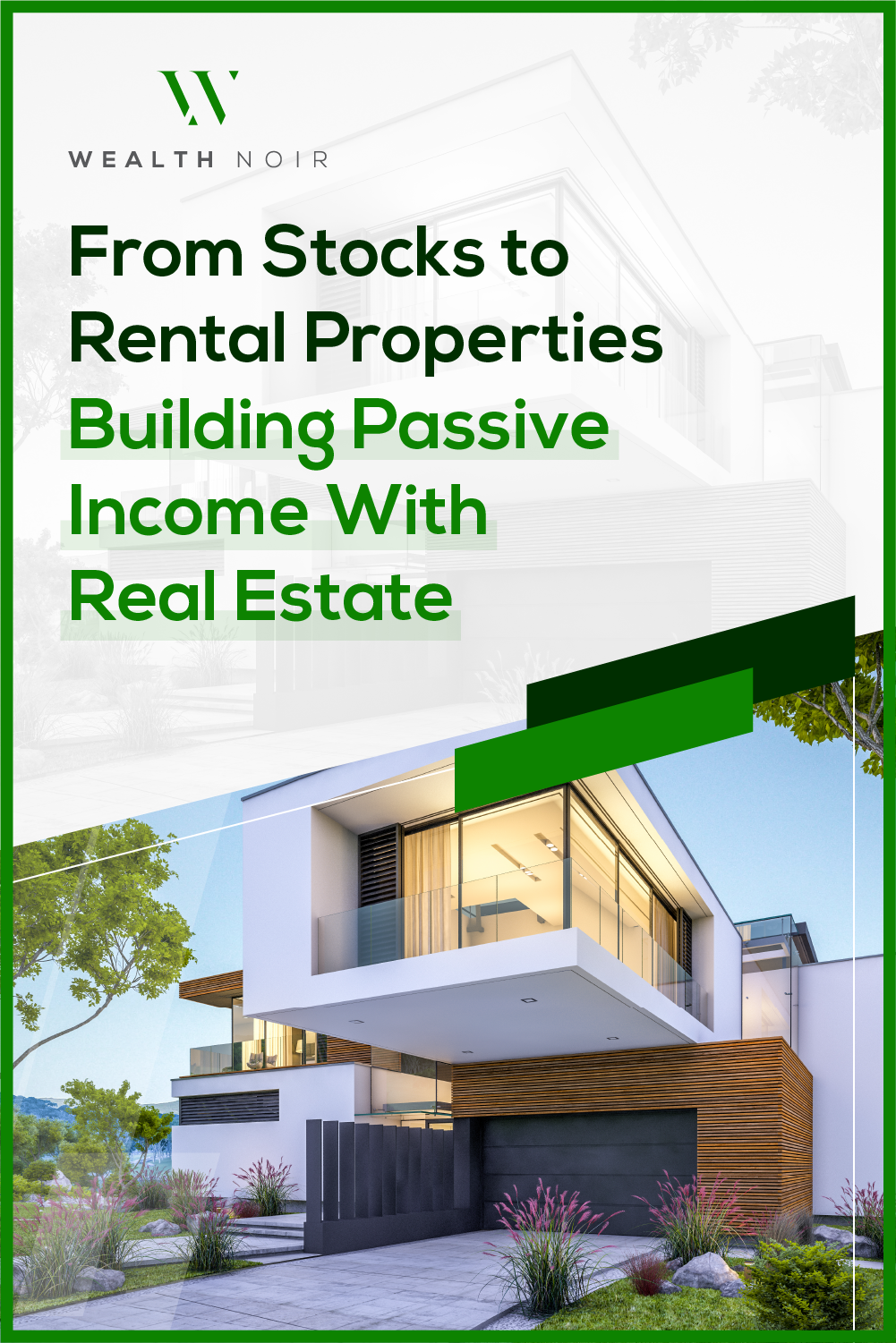 From Stocks to Rental Properties: Building Passive Income With Real Estate